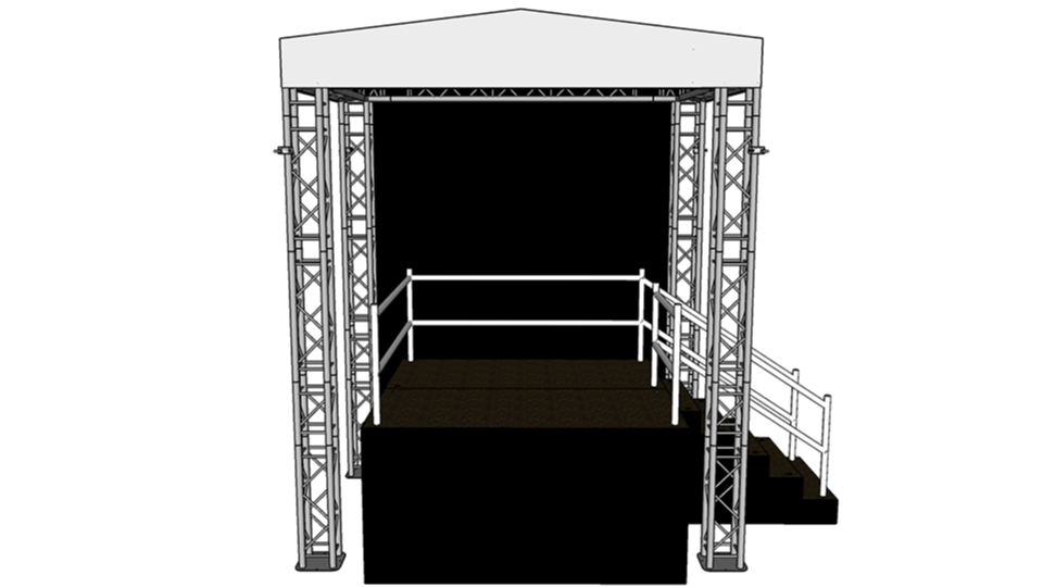 Mini Stage 1 with height extension