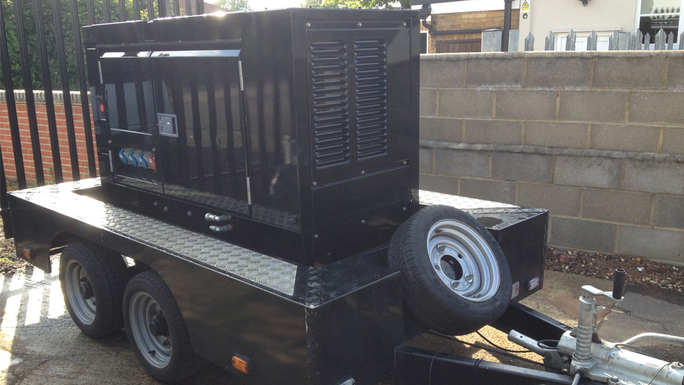 Bedfordshire Stage Hire 20KVA Generator