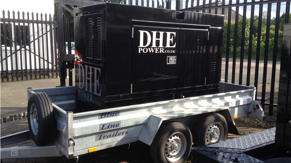 Bedfordshire Stage Hire 60KVA Generator